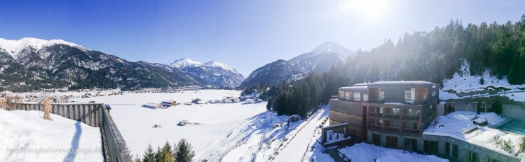 Panorama Das Kronthaler Hotel Achenkirch Tirol im Winter