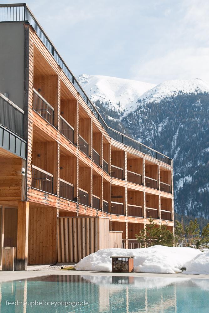 Das Kronthaler Hotel Außenpool Achenkirch Tirol