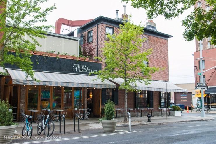 Sunday in Brooklyn Café Williamsburg Brooklyn New York
