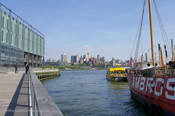 Hafen Seaport District Manhattan New York