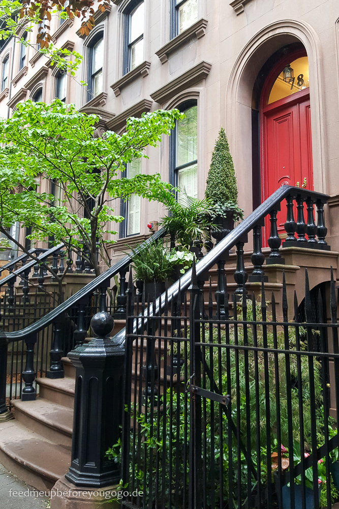 Brownstone Perry Street Greenwich Village