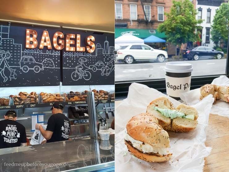 Bagel Pub Crown Heights Brooklyn New York