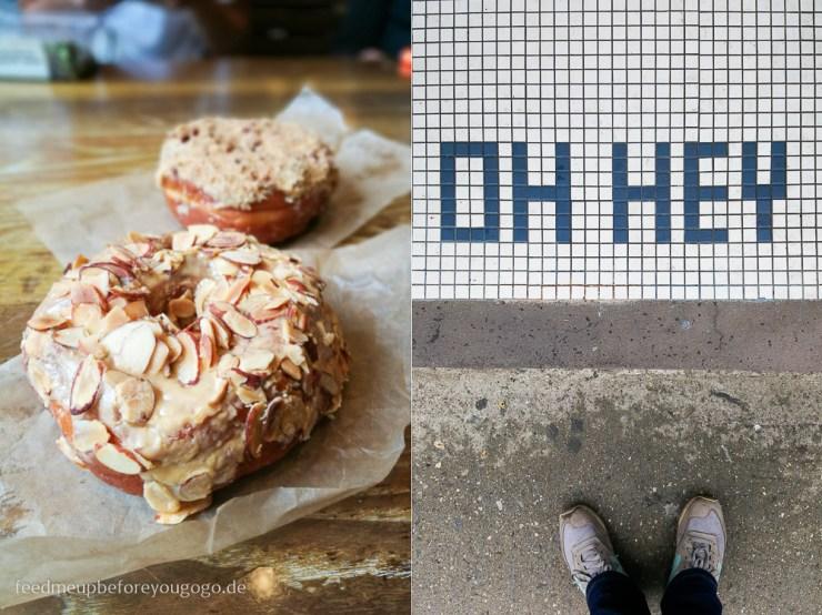 Dough Doughnuts Dulce de leche Manhattan New York