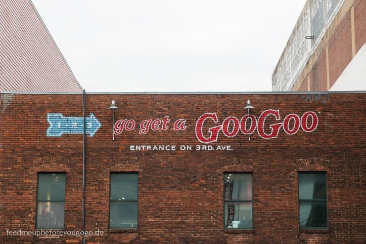 The Goo Goo Shop Downtown Nashville kulinarische Tipps
