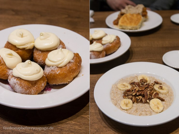 Bananas Foster Oatmeal Bonuts Biscuit Love The Gulch kulinarisch durch Nashville