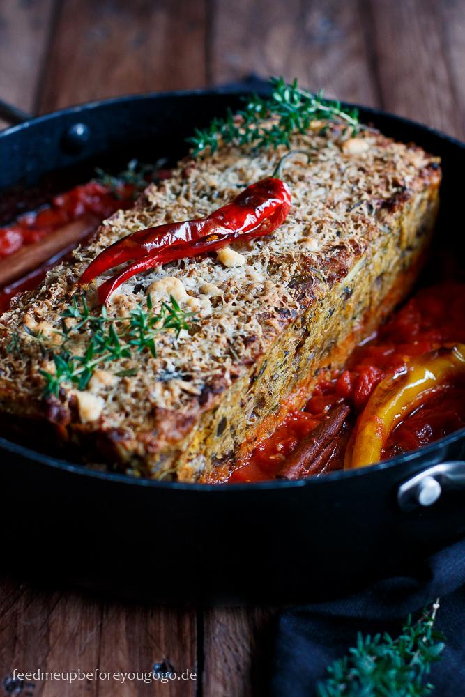 Vegetarischer Nussbraten Jamie Oliver Rezept