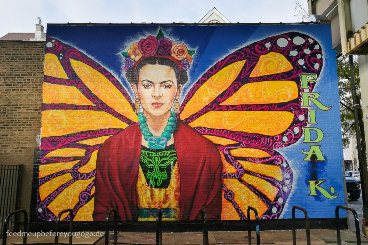 Chicago Frida Kahlo Mural Pilsen