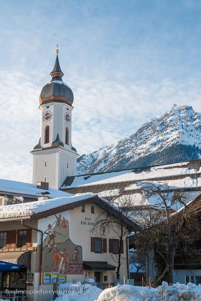 Kirche Garmisch-Partenkirchen