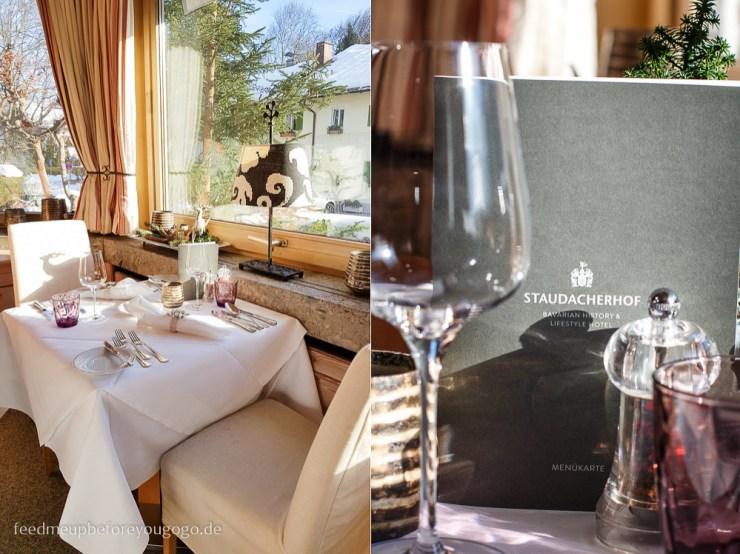 Hotel Staudacherhof Garmisch-Partenkirchen Restaurant Bayurvida