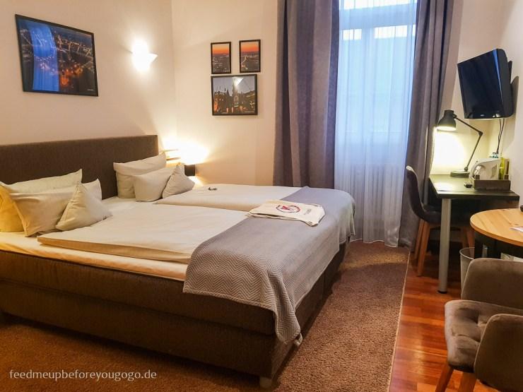 Reisetipps Karlsruhe Hotel Kaiserhof Zimmer