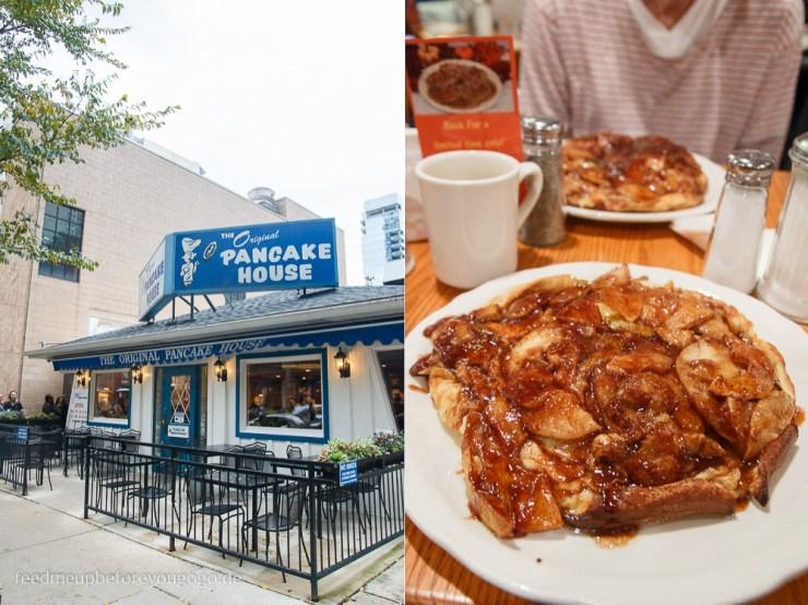 The Original Pancake House Apple Pancakes Frühstück Chicago kulinarische Tipps Food Guide