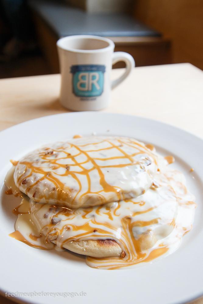 Bongo Room White Chocolate and Caramel Pretzel Pancakes Frühstück Chicago kulinarische Tipps Food Guide