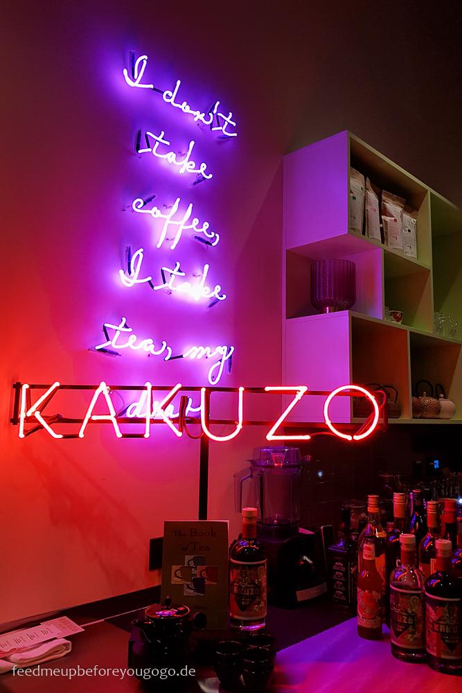 Kakuzo Tee infusionierter Wodka