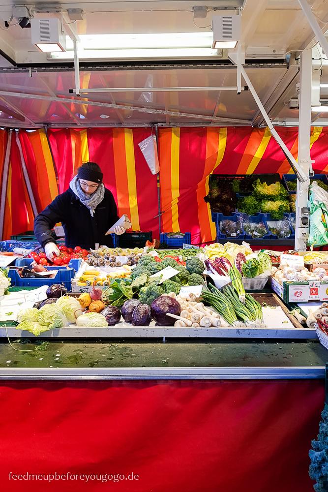 Karlsruhe Markt am Gutenbergplatz