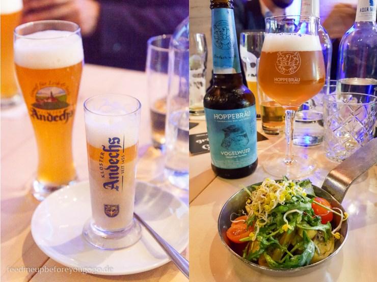 Bapas Beer-Pairing-Menü München