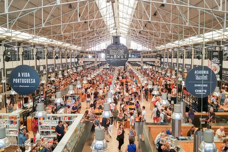Lissabon Time Out Market kulinarische Tipps