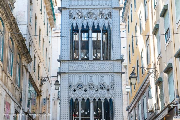 Lissabon Elevador de Santa Justa kulinarische Tipps