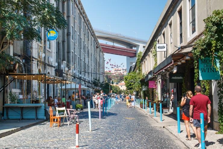 LX Factory Street-Art Lissabon kulinarische Tipps