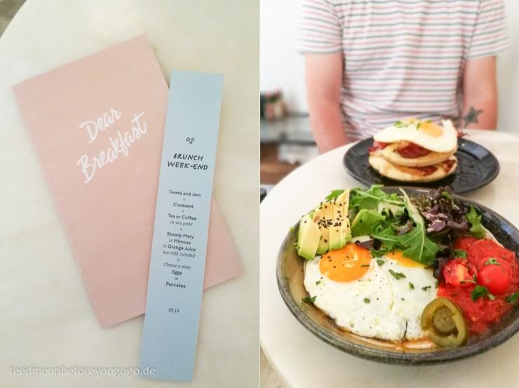 Lissabon Dear Breakfast Frühstück Rancheros Bowl kulinarische Tipps