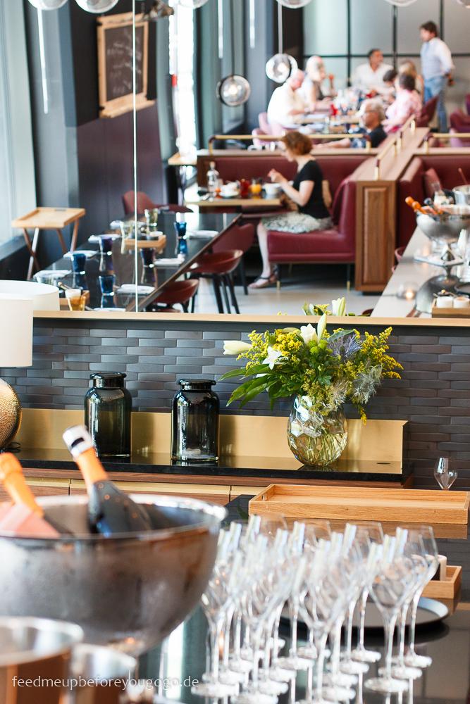 Brunch im Lonely Broccoli Andaz Hotel München