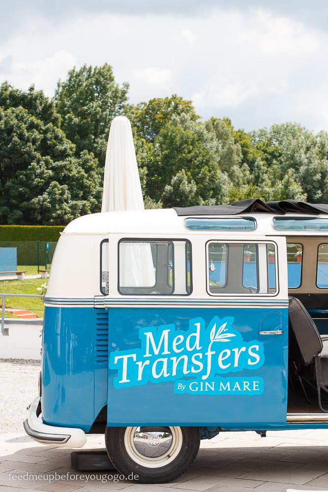 Bus MedTransfers Food-Pairing-Festival von Gin Mare in München