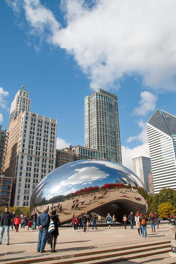Cloud Gate aka The Bean Chicago Millennium Park The Loop