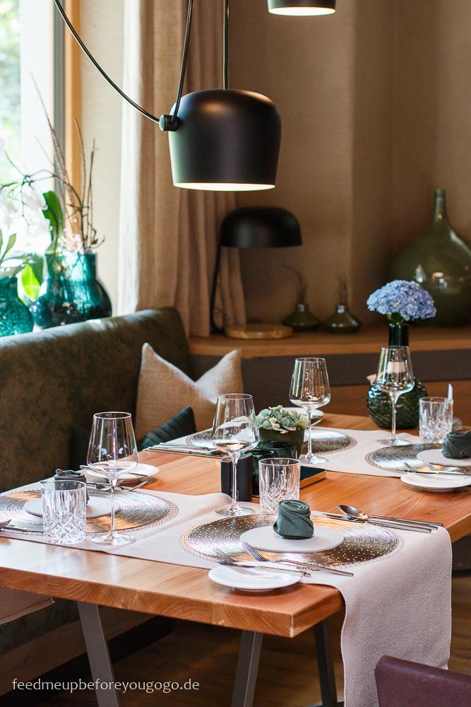 Restaurant im Naturhotel Waldklause im Ötztal, Tirol