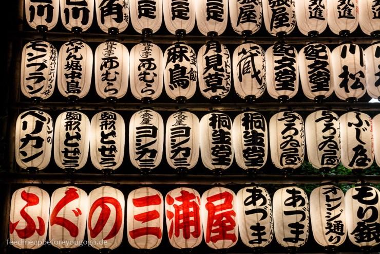 Laternen Asakusa, Tokio Basics für die Reiseplanung. Tipps für Reise nach Japan