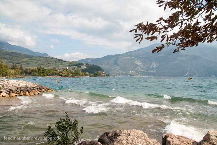 Reisetipps für den Gardasee: Riva del Garda am Lago di Garda