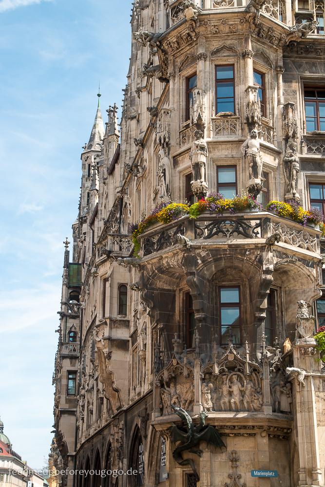 Marienplatz Rathaus Reisetipps für ein Wochenende in München