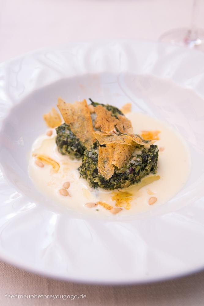 Tipps für den Gardasees: essen gehen in Arco Il Ritratto Strangolapreti
