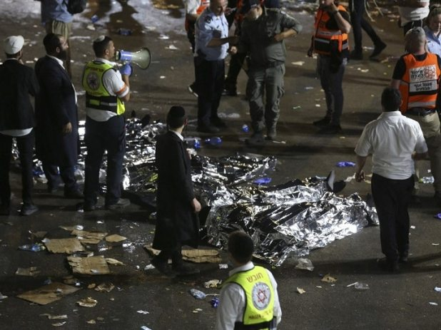 At Least 40 Killed, Over 100 Injured In Stampede At Jewish Religious Festival In Israel