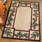 Pinecone Cabin Rugs