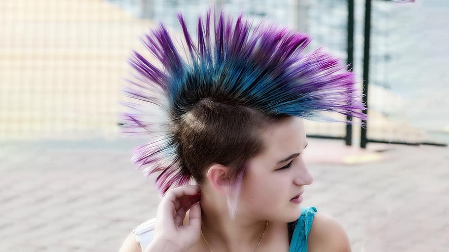 Punk Hair Color 8 Interesting Tips