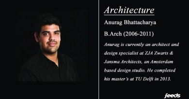 Interview: Anurag Bhattacharya (Arch – 2011)