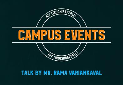 News Report: 'The Talk' by Mr. Rama Variankaval, MD, JP Morgan