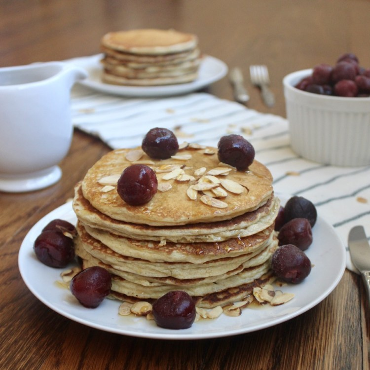 whole wheat flour almond flour pancakes