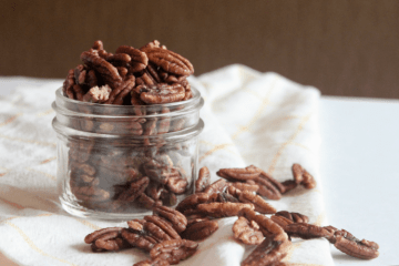 paleo toasted maple cinnamon pecan recipe