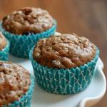 dairy-free overloaded morning glory muffins