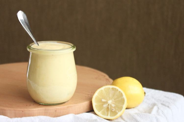 paleo dairy-free lemon custard recipe