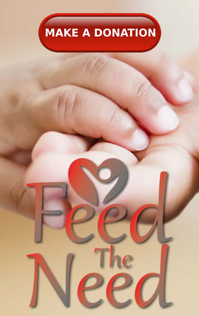 Donations for Feed the Need in Langebaan