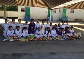 Feed the need - bahrain - Dilmun school