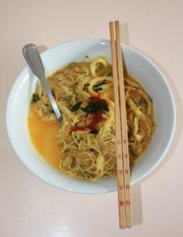 Curry Coconut Laksa.