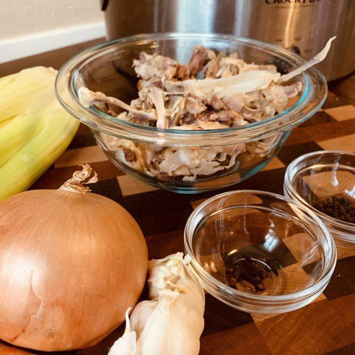 Rotisserie Chicken Bone Broth