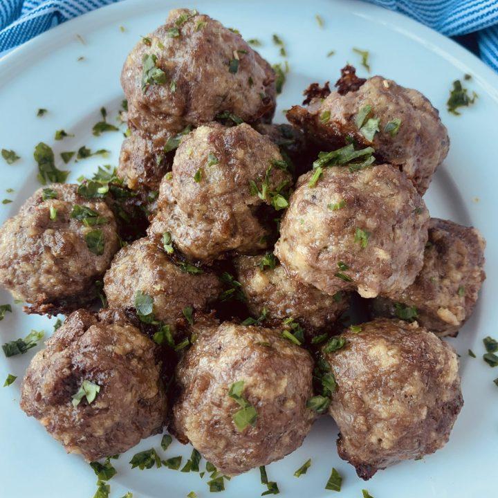 Italian Meatballs (Dairy Free)