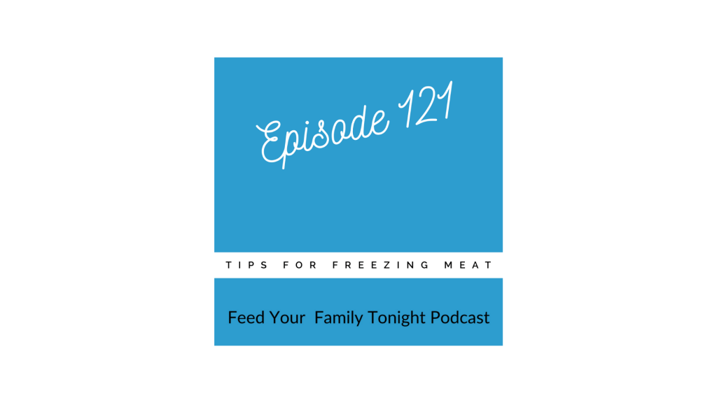Podcast about Freezing Meat