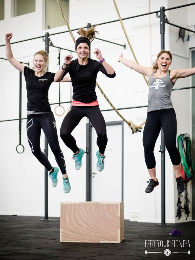 CrossFit Bloggertreffen von FEED YOUR FITNESS Jumping