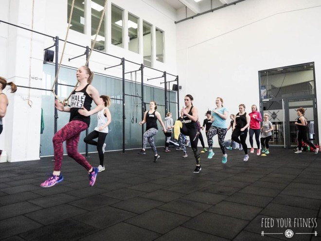 CrossFit Bloggertreffen von FEED YOUR FITNESS Warm-Up