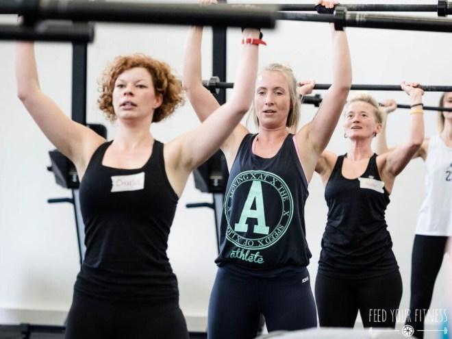Starke Mädels beim CrossFit Bloggertreffen von FEED YOUR FITNESS