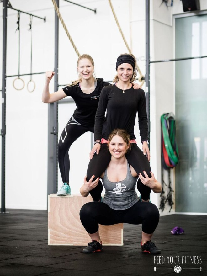 Teamwork beim CrossFit Bloggertreffen von FEED YOUR FITNESS